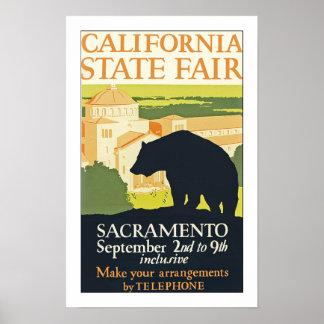公平なカリフォルニア国家 ポスター