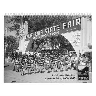 公平なカリフォルニア国家- Stockton通り1909-1967年 カレンダー