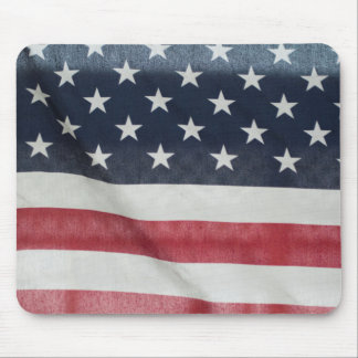 公平なサセックス郡の米国旗 マウスパッド