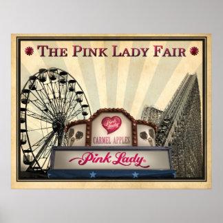 公平なピンクのLady® ポスター