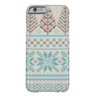 公平な島のニットのセーターの箱 BARELY THERE iPhone 6 ケース