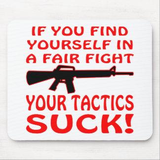 公平な戦いのあなた自身があなたの作戦見つけなさい吸うと マウスパッド