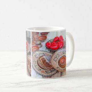 公平な職人のカラフルな陶器 コーヒーマグカップ