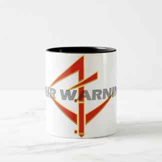 公平な警告のマグ ツートーンマグカップ