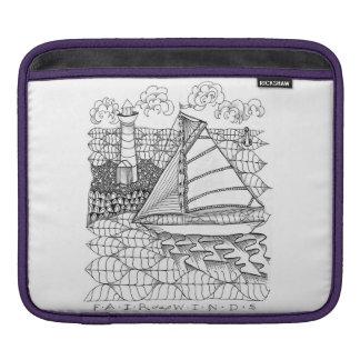 公平な風の船員のiPadの袖 iPadスリーブ