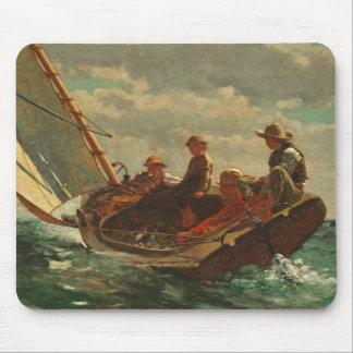 (公平な風) 1873-76年の上にそよ吹くこと マウスパッド