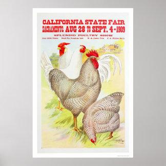 公平な1909年のカリフォルニア国家 ポスター