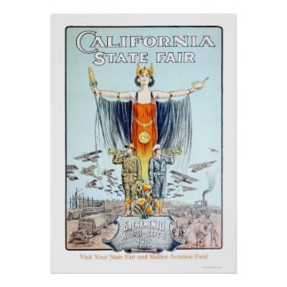 公平な1918年のカリフォルニア国家 ポスター