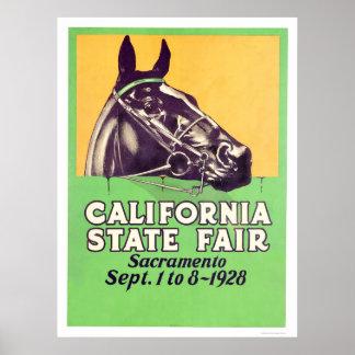 公平な1928年のカリフォルニア国家 ポスター
