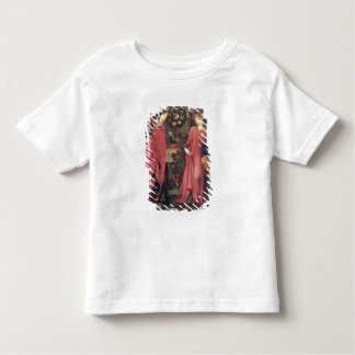 公平なRosamundおよび女王エレノア(paの混合メディア トドラーTシャツ