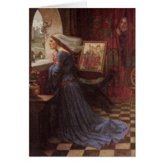 公平なRosamund -ジョン・ウィリアム・ウォーターハウス カード