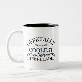 公式に世界で最もクールなチアリーダー ツートーンマグカップ