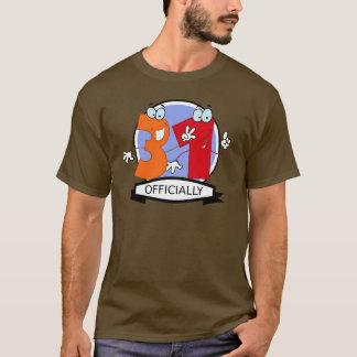 公式に31の誕生日の旗 Tシャツ