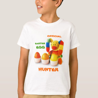 公式のイースターエッグのハンター。 イースターギフトのTシャツ Tシャツ
