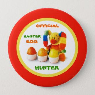 公式のイースターエッグのハンター。 イースターギフトボタン 10.2CM 丸型バッジ