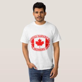 公式のカナダ日ビール飲むワイシャツ150 Tシャツ