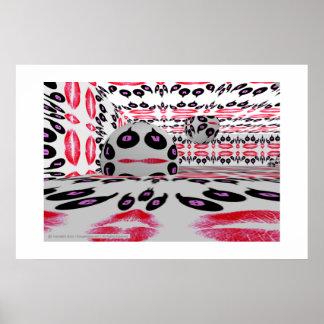 公式のクーガーのポップアート愛ポスター ポスター