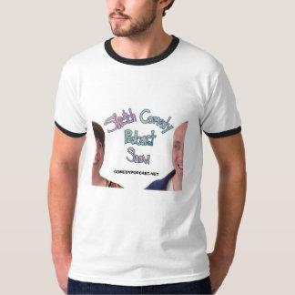 公式のスケッチの喜劇のポッドキャストショーのワイシャツ Tシャツ