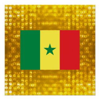 公式のセネガルの旗 ポスター