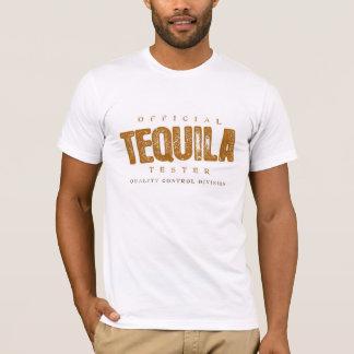 公式のテキーラのテスター Tシャツ