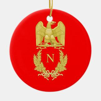 公式のナポレオンIの帝国紋章のオーナメント セラミックオーナメント