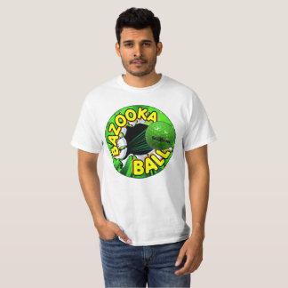 公式のバズーカの球の頂上のロゴのワイシャツ Tシャツ
