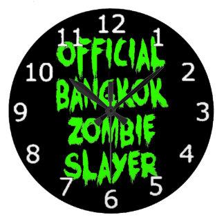 公式のバンコクのゾンビの殺害者 ラージ壁時計
