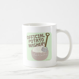 公式のポテトのMasher コーヒーマグカップ