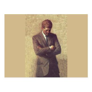 公式のポートレートJohn F Kennedy ポストカード