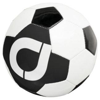 公式のロゴのクラシックで黒くか白いサッカーボール サッカーボール