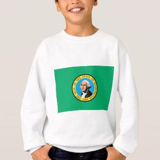 公式のワシントン州の旗 スウェットシャツ