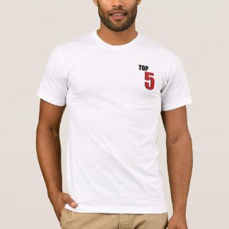公式の上5のワイシャツ Tシャツ