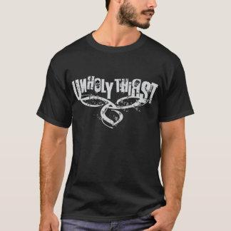 公式の不道徳な渇きのワイシャツ Tシャツ