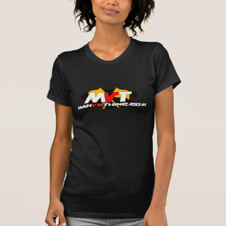 公式の人対事のロゴ Tシャツ