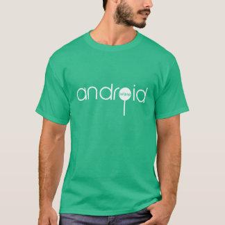 公式の人間の特徴をもつ棒つきキャンデー Tシャツ