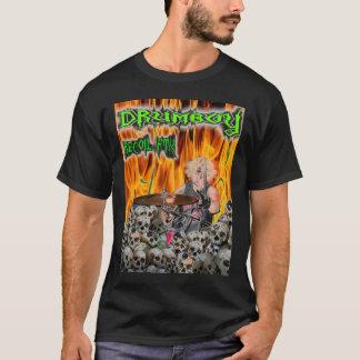 公式の反動FTK Drumboy T Tシャツ