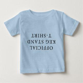 公式の小樽の立場のTシャツ ベビーTシャツ