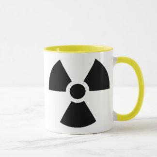 公式の放射性廃棄物の容器 マグカップ