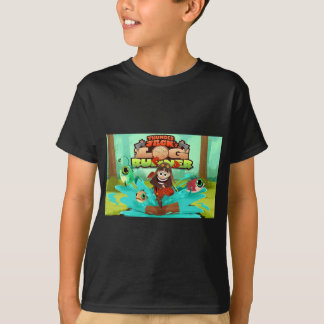公式の雷ジャックの丸太のランナーT Tシャツ