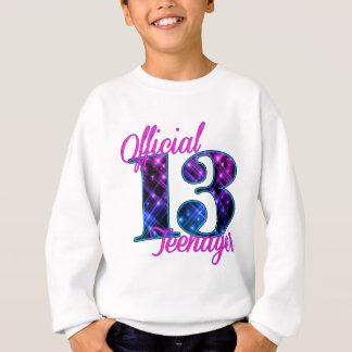 公式の10代の若者 スウェットシャツ