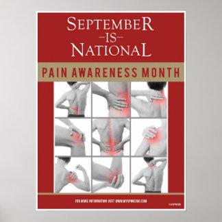 公式の9月の苦痛の認識度ポスター ポスター