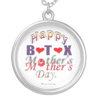 公式のBotoxの母の日のネックレス シルバープレートネックレス