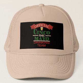 公式のCinco Deメーヨーの飲むチームトラック運転手の帽子 キャップ