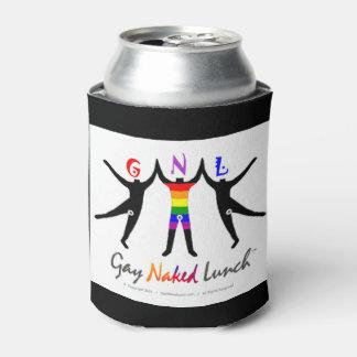 公式のGayNakedLunch (GNL)のカスタムな飲み物の袖 缶クーラー