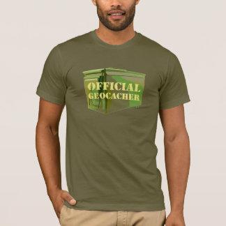 公式のGeocacher Tシャツ