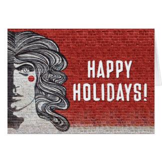 公式のGodspellの休日カード カード