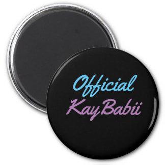 公式のKayBabii Magnent マグネット