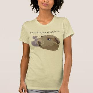 公式のKnoxvilleのモルモットの救助のTシャツ Tシャツ