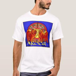 公式AKOCGのロゴ Tシャツ