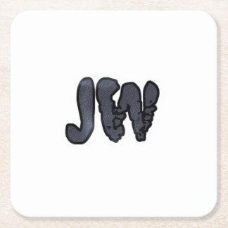 公式JWのコースター スクエアペーパーコースター